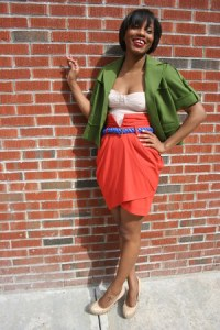 [Details: chictopia: ann taylor blazer with H&M skirt]