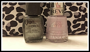 "[ Brands used: ""Quo by Orly"" and ""Revlon"" ]"