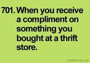 compliment thrift
