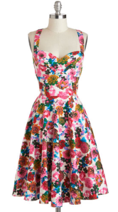Garden Home Tour Dress in Pink