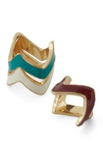 Modcloth Trifecta Ring Set