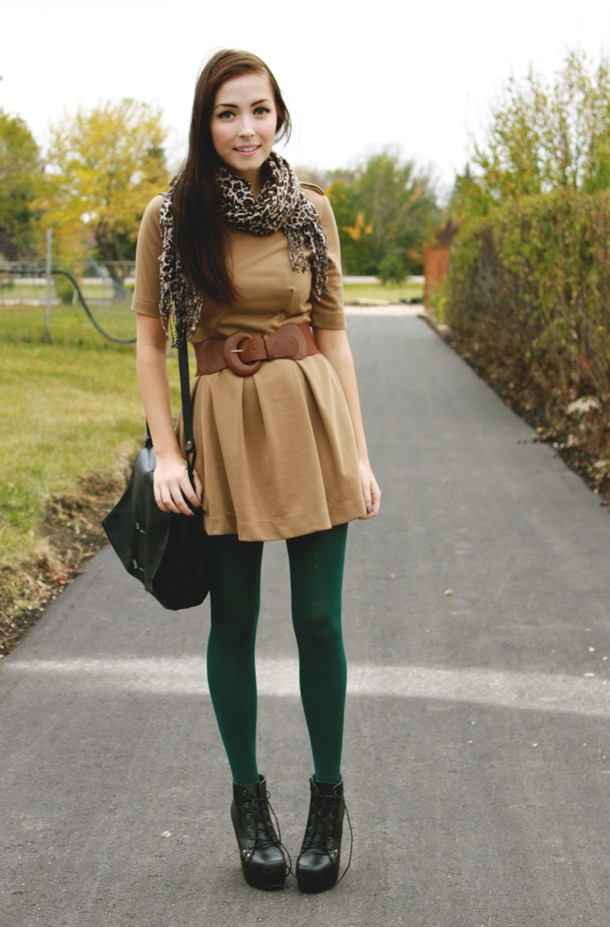 Colored/Printed Tights for Fall – Baby T's Fashion Diaries