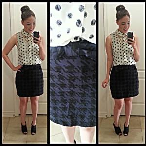 polka dot outfit 1