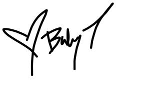 Baby T signature