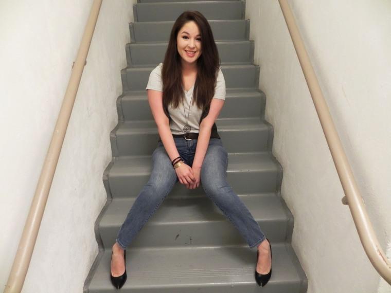 Sitting stairwell