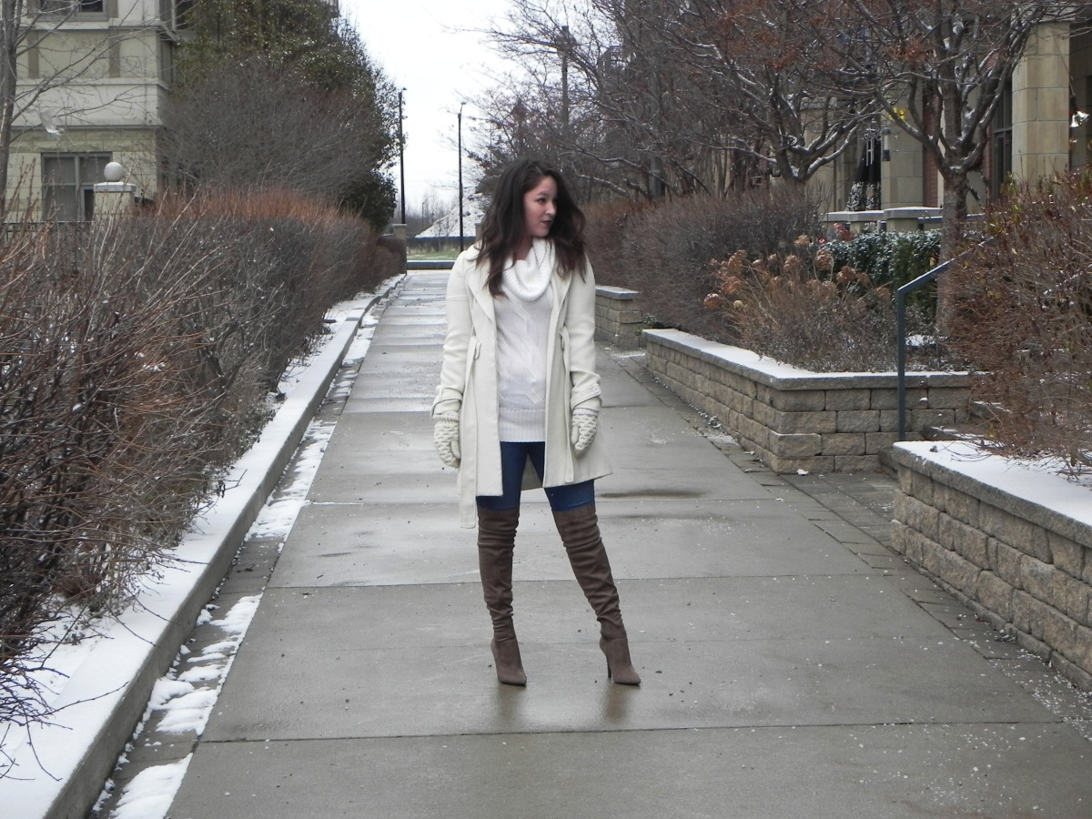 Thigh High Aldo Boots: Styling