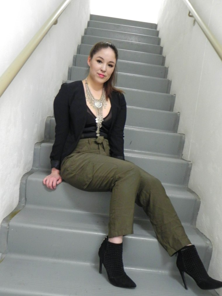 Casual Body Suit - stairs (1 of 1)